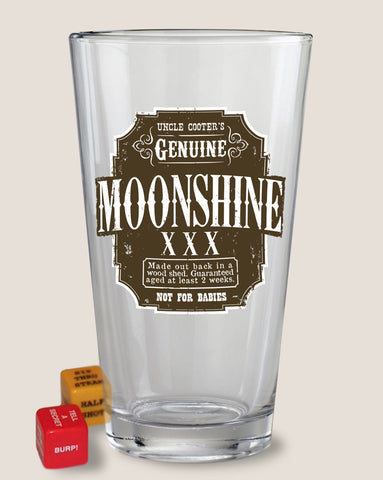 Moonshine - Pint Glass