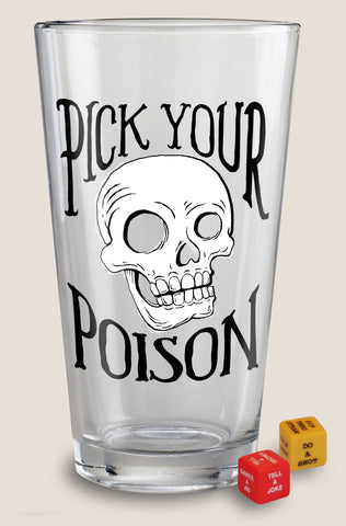 Pick Your Poison - Pint Glass