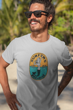 Surfers Paradise by LCKY JACK - Unisex Heavy Cotton T shirt, surfing, mermaid, cool beach shirt
