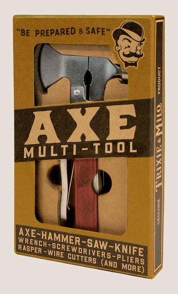 Axe Multi tool by Trixie & Milo. Hiking, camping gift. Home DIY projects.