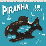 "Piranha Multi-Tool ""12-in-1 tool"""
