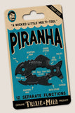 The Piranha Multi tool, by Trixie & Milo. The coolest menÕs gift, fisherman's gift, bottle opener tool.