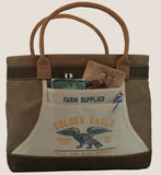 "Apron Tote Bag - ""Golden Eagle Farm Supplies"""
