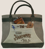 "Apron Tote Bag - ""Classic Hardware & Tool Co."""