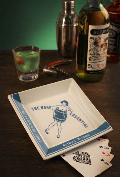 The Bare Essential - 1920's Prohibition - Coaster/Cocktail Napkin Tray