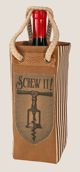 Screw It - Wine Tote