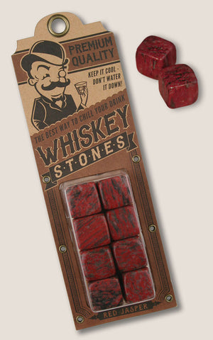 Red Jasper - Whiskey Stones