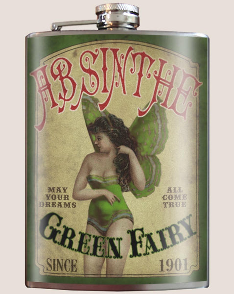 Green Fairy Absinthe - Flask
