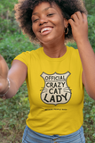 Official Crazy Cat Lady - LCKY JACK - cat lover shirt, Unisex Heavy Cotton Tee, funny, vintage style, cute t shirt