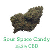 Sour Space Candy CBD Hemp Flower Cannabis