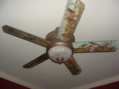 Designer Fan Blades - Custom Artwork