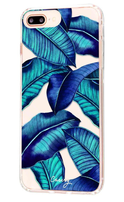 bikini junkie casery tropical leaves iphone case