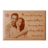 Wooden Plaque 5×7 (WP 9)