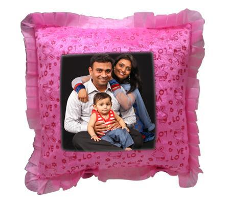 Pink Rectangle Pillow