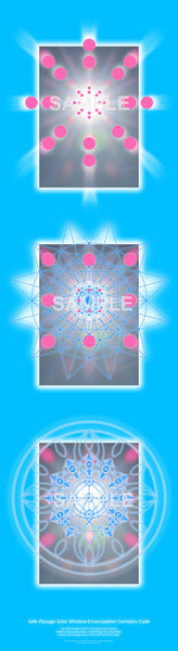Safe-Passage Solar Window Code Posters