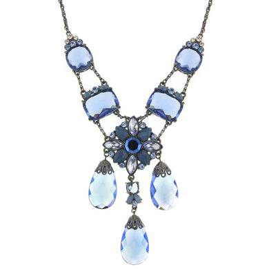 Antiquities Couture Briolette Drop Necklace