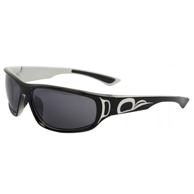 Niko Sunglasses with Bear Paw Design in Black/White