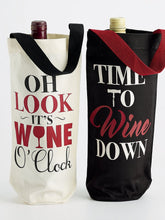 Load image into Gallery viewer, Wine Cellar Bottle Totes (Pair) with Wine Bottles