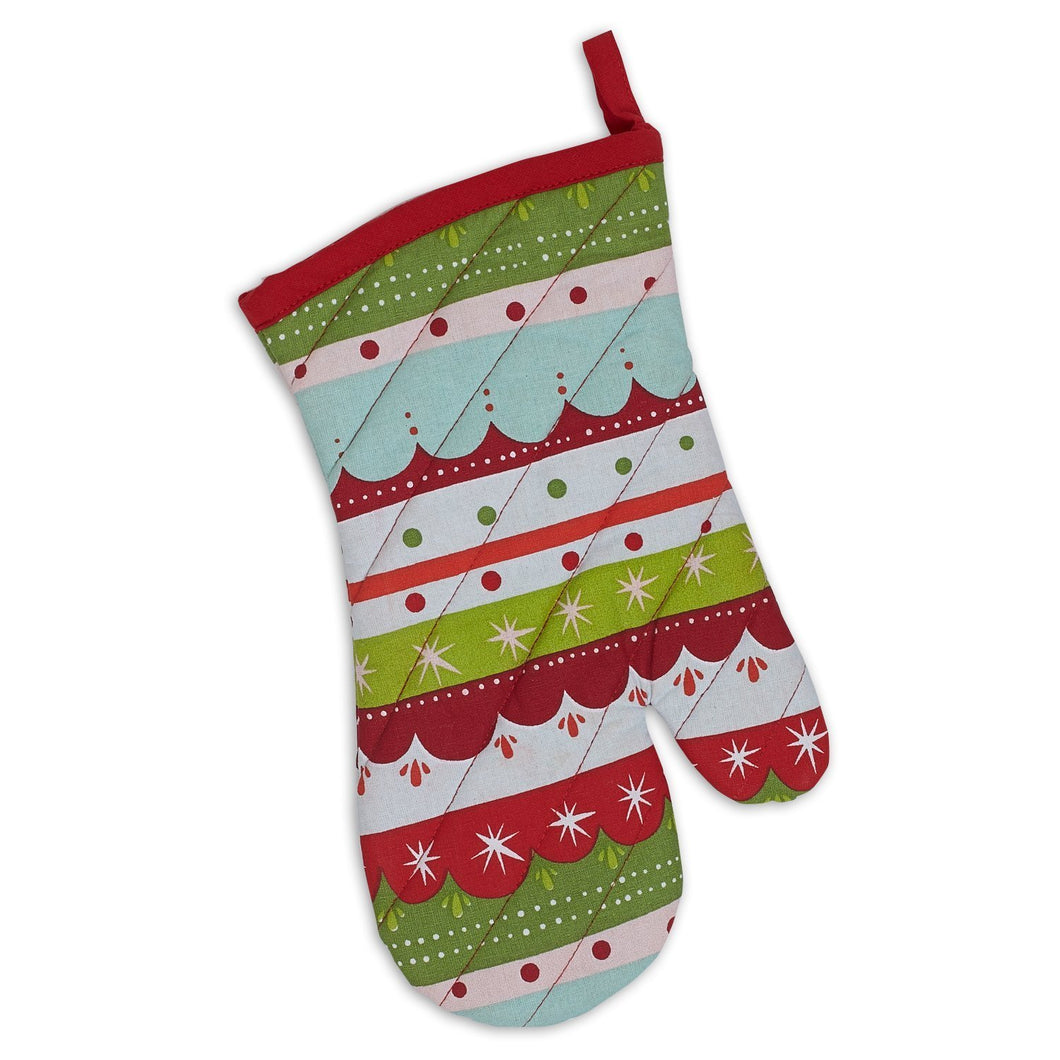 Holiday Mittens Oven Mitt