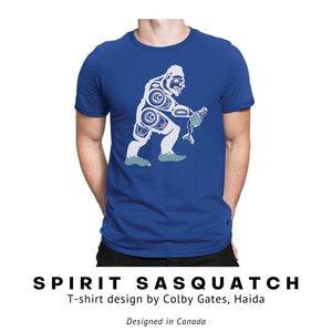 Spirit Sasquatch T-Shirt by Colby Gates - Social Media Image