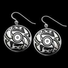 Load image into Gallery viewer, Ancient Voices .925 Sterling Silver Earrings from Metal Arts Group