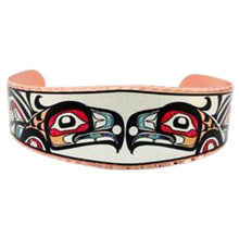 Load image into Gallery viewer, NW Native Raven Design Bracelet