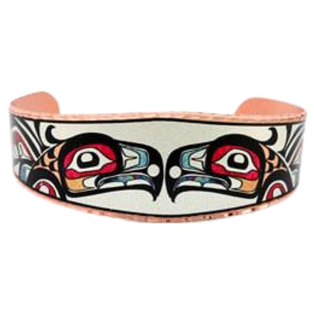 NW Native Raven Design Bracelet