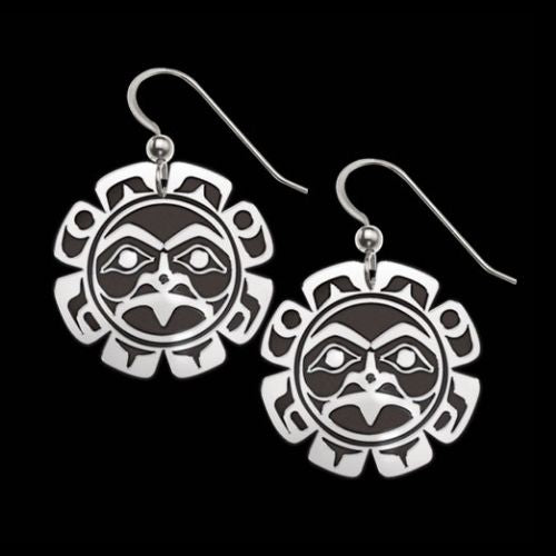 Sun Spirit .925 Sterling Silver  Earrings from Metal Arts Group
