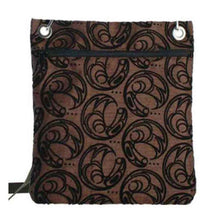 Load image into Gallery viewer, Raven Design Town Bag in Brown designed by Connie Dickens