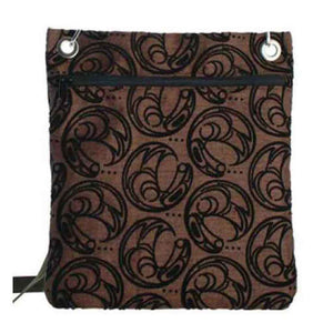 Raven Design Town Bag in Brown designed by Connie Dickens