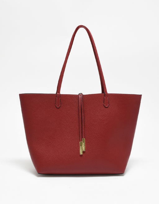 DEPARTURE TOTE CRIMSON RED/BLACK