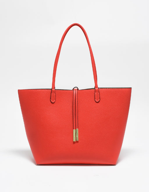 DEPARTURE TOTE TROPIC RED/PLATINUM