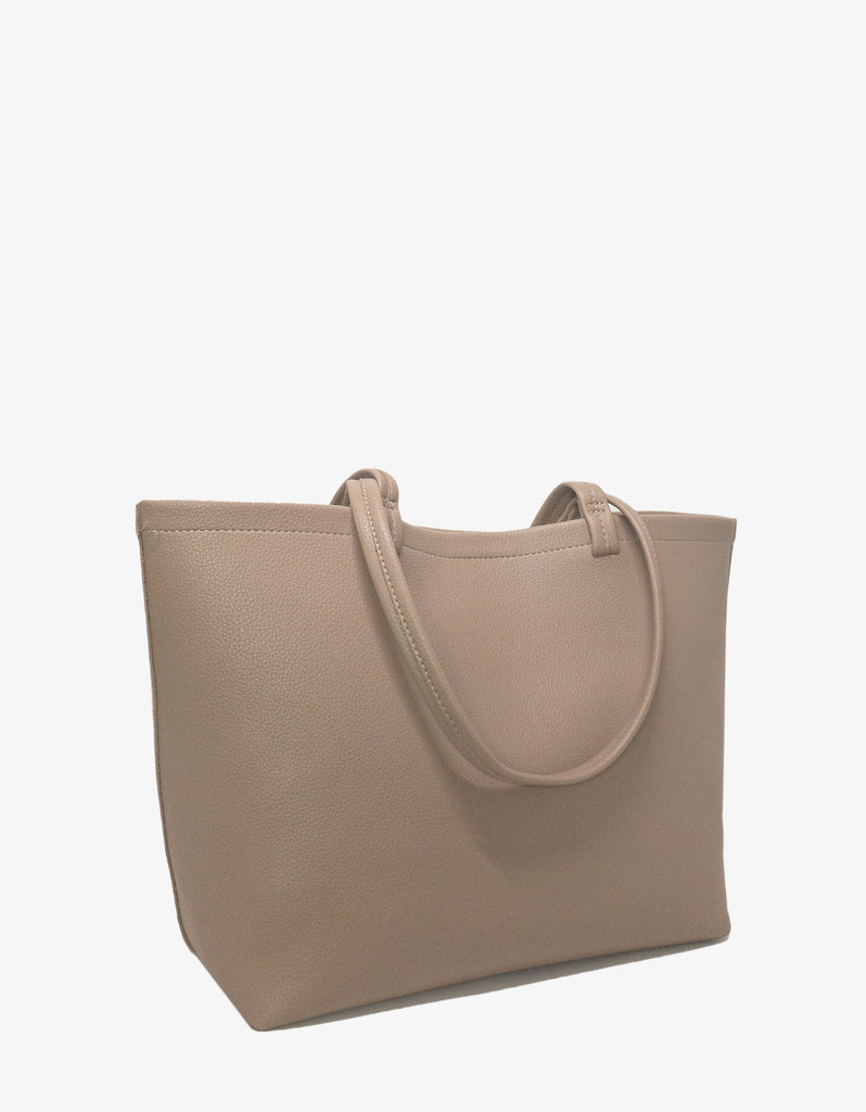 VOYAGER TOTE TAUPE
