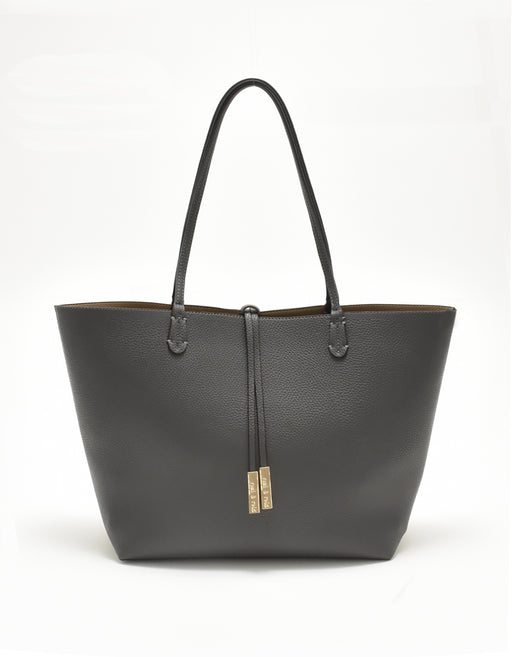 DEPARTURE TOTE GREY/TAUPE