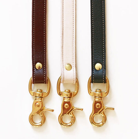 Dear Doggy Leather Leashes