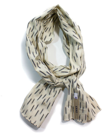 Gray Dash Scarf