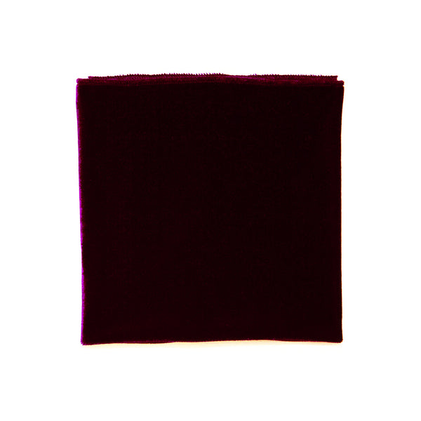 The Royal (Wine Purple) Pocket Square
