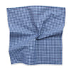 Southern Gent (Blue) Pocket Square detail