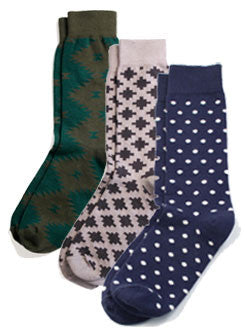 Richer Poorer Union Thread Socks, Set of 3
