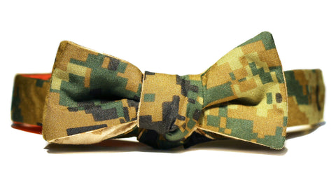 Digital Camo Bow Tie (Reversible)
