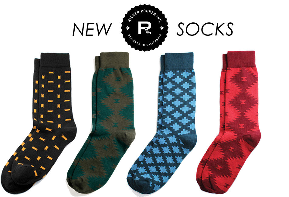 New Richer Poorer Socks