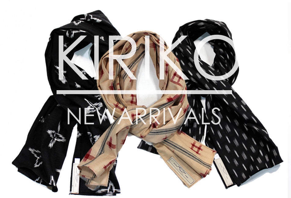 New Kiriko Scarves