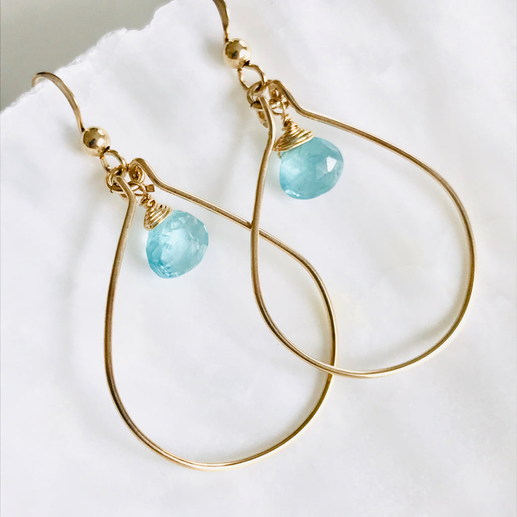 BAJA gemstone earrings