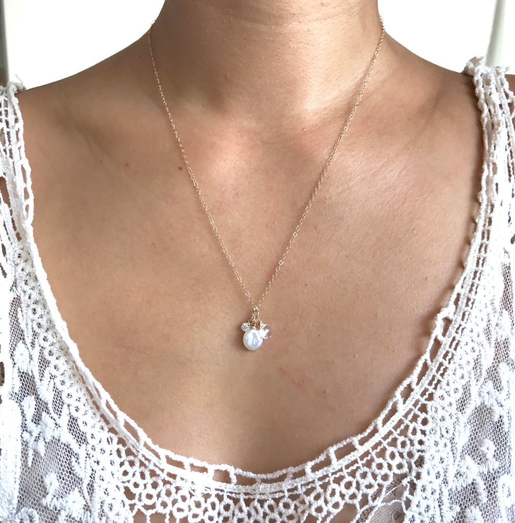 CALYPSO Freshwater pearl necklace