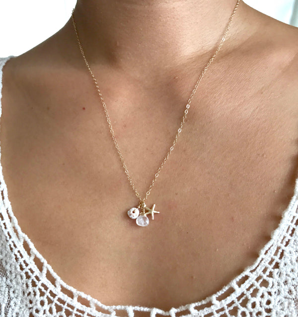 MAILE charm necklace
