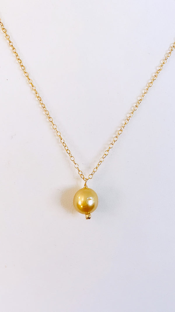 SOUTH SEA Pearl pendant necklace