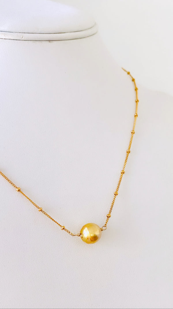 SOUTH SEA Pearl beaded necklace