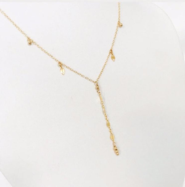 Ladder lariat necklace