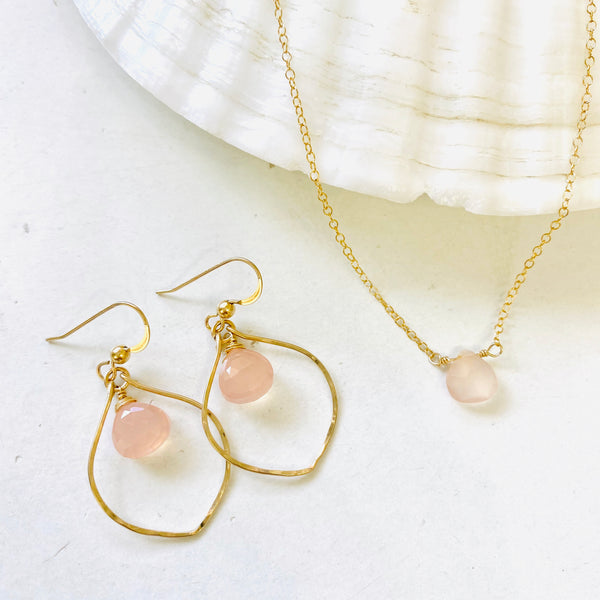 Pink Chalcedony Set A