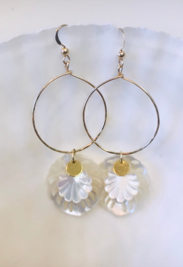 LAU DELUXE hoop earrings